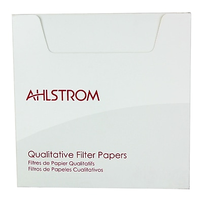 Ahlstrom Filtration LLC Filter Paper, 8.07