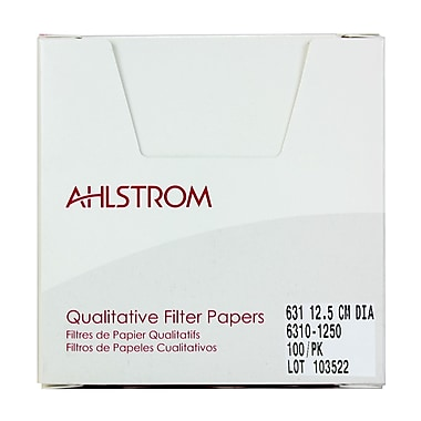 Ahlstrom Filtration LLC Filter Paper, 4.92