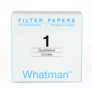 Whatman GE Healthcare Biosciences Grade 1 Filter Paper, 100/Pack