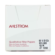 "Ahlstrom Filtration LLC Filter Paper, Grade 601, 3.54"", 100/Pack"
