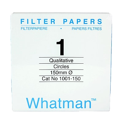 Whatman GE Healthcare Biosciences Filter Paper, Grade 1, 5.9