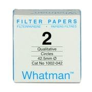Whatman GE Healthcare Biosciences Grade 2 Filter Paper, 100/Pack