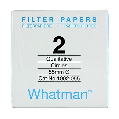 Whatman GE Healthcare Biosciences Filter Paper, Grade 2, 2.2