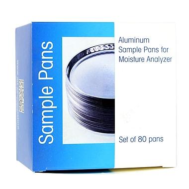 Mettler - Toledo Sample Pan, Aluminum, 50/Pack