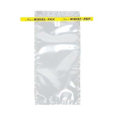 Whirl-Pak Sample Bag, 532ml, Sterile Write On, 500/Pack