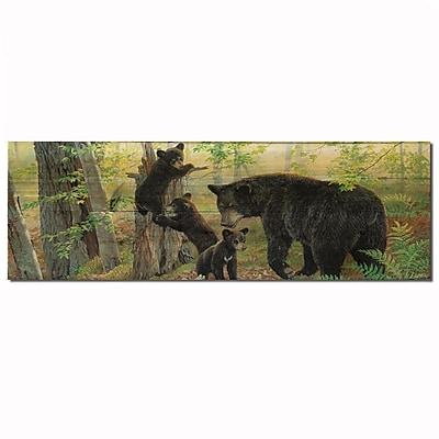 WGI GALLERY Playtime Painting Print Plaque; 8'' H x 24'' W x 1'' D