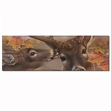 WGI GALLERY First Kiss by Scott Zoellick Graphic Art Plaque; 4'' H x 12'' W x 0.5'' D