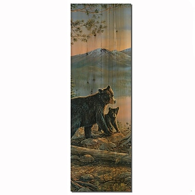 WGI GALLERY Serenity at Twilight Painting Print Plaque; 24'' H x 8'' W x 1'' D