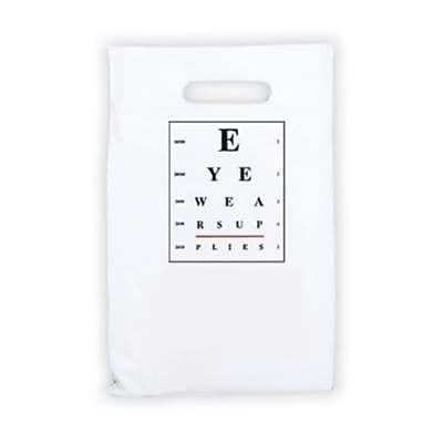 Eye Care Non-Personalized Jumbo 2-Color Supply Bags, Eyechart