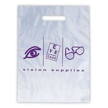 Eye Care Non-Personalized Large 1-Color Supply Bags, EC Elements