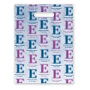 "Large Scatter-Print Supply Bags, Fuzzy ""E"""