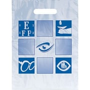 Eye Care Non-Personalized Large 1-Color Supply Bags, EC Checkerboard