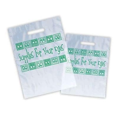 Eye Care Non-Personalized Jumbo 1-Color Supply Bags, Cartoon Eyes