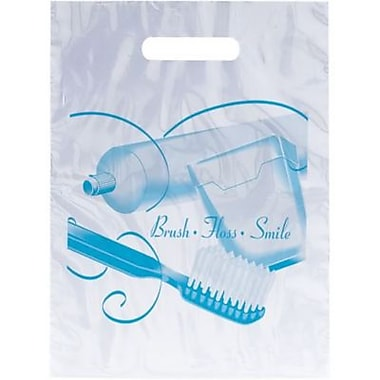 Dental Non-Personalized Small 1-Color Supply Bags, Brush Floss Paste