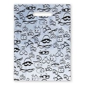 Large Scatter-Print Supply Bags, Funny Eyes