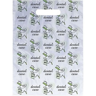 Small Scatter-Print Supply Bags, Brush Floss, Swirled Tooth