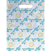 Small Scatter-Print Supply Bags, Smile to Go