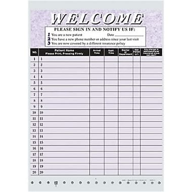 medical office sign in sheet template