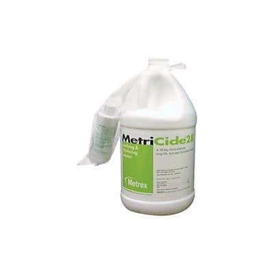 Metrex MetriCide 28 Sterilizing and Disinfectant Solution, Gallon