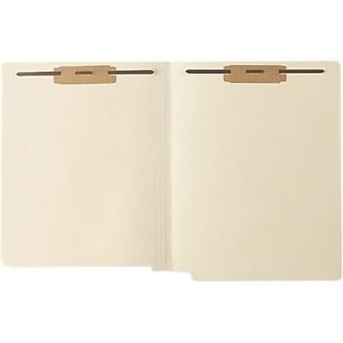 Medical Arts Press® Full-Cut End-Tab File Folders, Two Fasteners, 11pt, Position 1 and 3, 250/Box