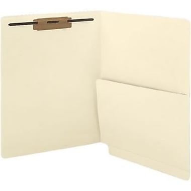 Medical Arts Press® Confidential End-Tab Folders, Single Pocket and One Fastener