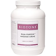 Biotone Dual-Purpose Massage Creme, Original Scent, 1 Gallon Jar (DPC1G)