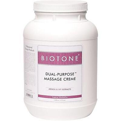 Biotone® Dual-Purpose Massage Creme, 1 gallon