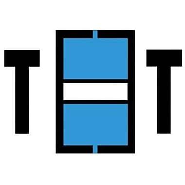 Medical Arts Press® Jeter® Compatible Alpha Sheet Style Labels, Letter T