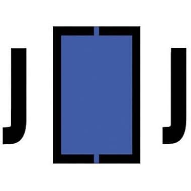 Medical Arts Press® Jeter® Compatible Alpha Roll Style Labels, Letter J