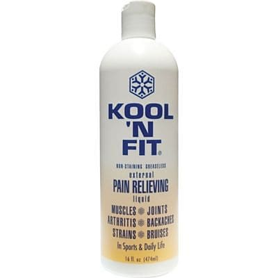 Kool 'N Fit Pain Relieving Liquid, 8 oz.