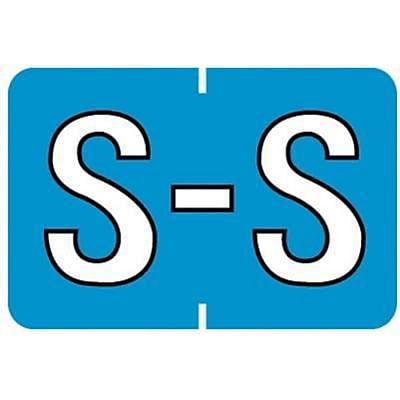 Medical Arts Press® Barkley & Sycom® Compatible Alpha Sheet Style Labels, S