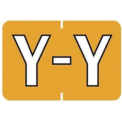 Medical Arts Press® Barkley & Sycom® Compatible Alpha Sheet Style Labels, Y