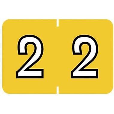 Medical Arts Press® Barkley & Sycom® Compatible Numeric Roll Labels, 2