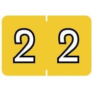 """Medical Arts Press® Barkley & Sycom® Compatible Numeric Roll Labels, 2"""""""