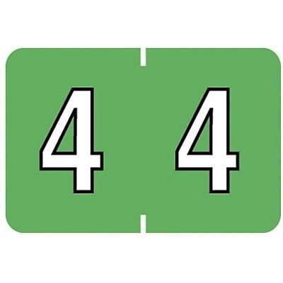 Medical Arts Press® Barkley & Sycom® Compatible Numeric Roll Labels, 4