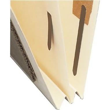 Medical Arts Press® End-Tab Manila Classification Folders, 1-Divider, 125/Box