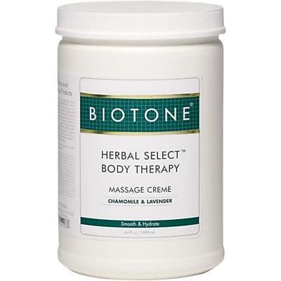 Biotone Herbal Select Body Therapy Creme, 1/2 gallon