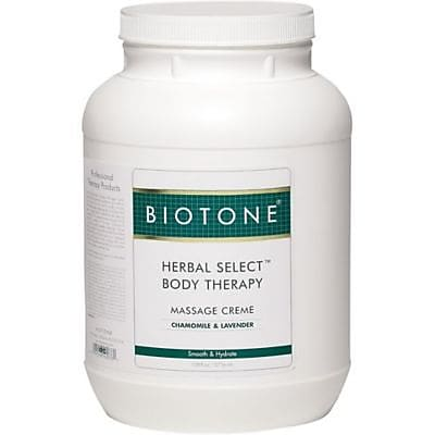 Biotone® Herbal Select Body Therapy Creme, 1 gallon