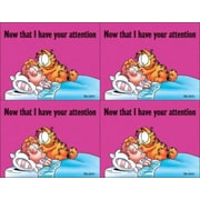 Garfield Laser Postcards, Your Attention