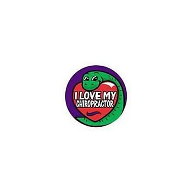 Medical Arts Press Children feets Chiropractor Stickers: I Love My Chiropractor