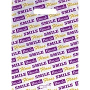 Small Scatter-Print Supply Bags, Smile/Brush