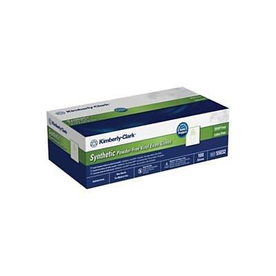 Kimberly-Clark® Synthetic Powder-Free Vinyl Exam Gloves; Small