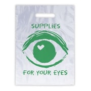 Eye Care Non-Personalized Large 1-Color Supply Bags, Eye w/Heart