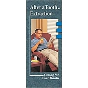 Krames® Dental Brochures, After a Tooth Extraction