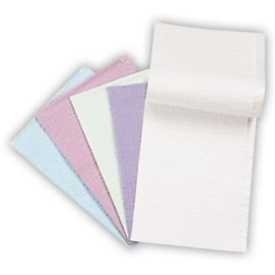 Crosstex Disposable Econoback Towels, 19 x 13 inch, Lavender