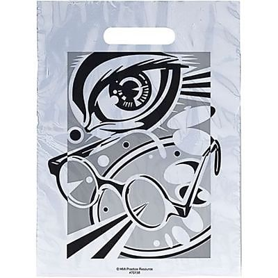 Eye Care Non-Personalized Large 1-Color Supply Bags, Glasses