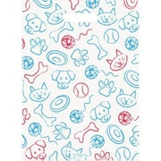 Jumbo Scatter-Print Supply Bags, Pet Toys