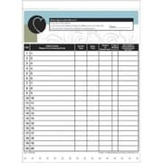 Medical Arts Press Designer Privacy Sign-In Sheets, Non-personalized Custom Front Design