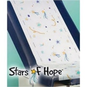 Stars of Hope Crepe Exam Table Paper Barriers, 18 inch x 125 feet