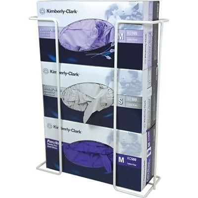 Triple Wire Glove Dispenser Box Racks, Horizontal